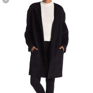 💯Vince Reversible Double Face Wool Blend Coat